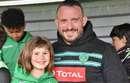 Visite surprise des Pros à l'école de rugby